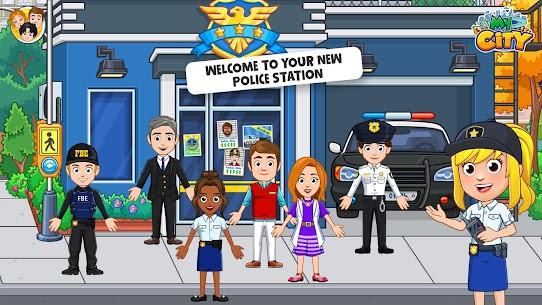 My City: Cops and Robbers – Police Game for Kids👮 Mod 1.0.4 Apk (Paid, Unlocked) 1