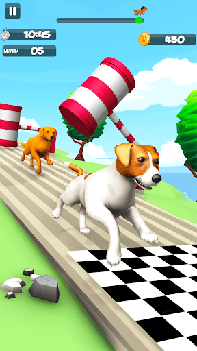 Dog Run - Fun Race 3D apkpoly screenshots 10