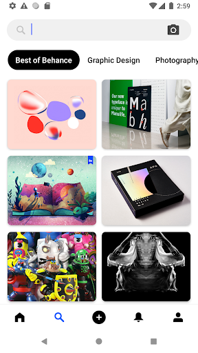 Behance: Photography, Graphic Design, Illustration 6.5.4 Screenshots 10