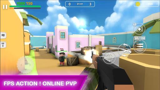 Block Gun: FPS PvP War - Online Gun Shooting Games android2mod screenshots 3