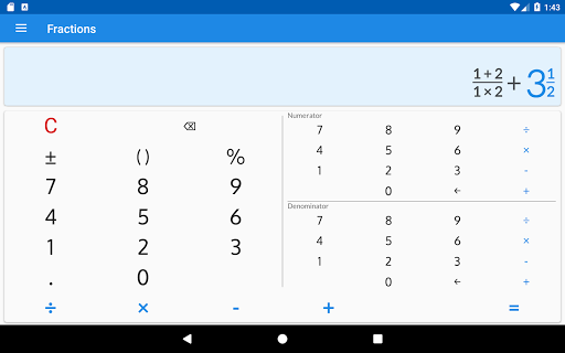 Fractions - calculate and compare 2.18 Screenshots 12