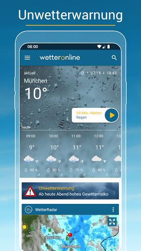 RegenRadar - Vorhersagen & live Wetterradar  screenshots 5