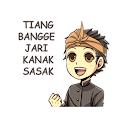 Sasak Lombok WAsticker
