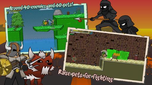 Helmet Heroes MMORPG - Heroic Crusaders RPG Quest 10.6 Screenshots 3