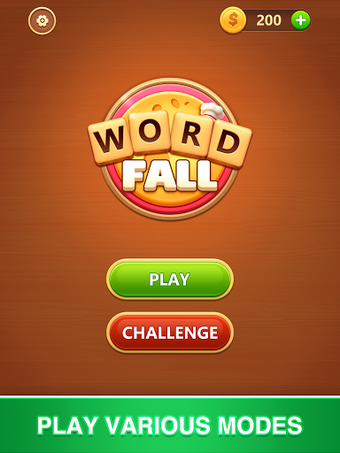 Word Fall - Brain training search word puzzle game android2mod screenshots 12