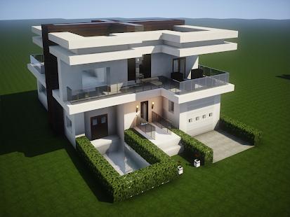 New Modern House for Mineu273fu273fu273fcraft - 500 Top Design 6.7.77 Screenshots 2