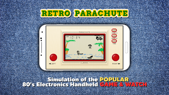 Retro Parachute 1.2.2 Unlocked MOD APK Android 1