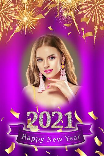 New Year 2021 Frame - New Year Greetings 2021 1.0.4 Screenshots 12