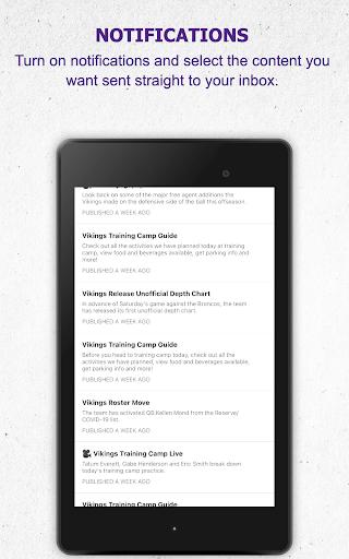 Minnesota Vikings Mobile android2mod screenshots 14