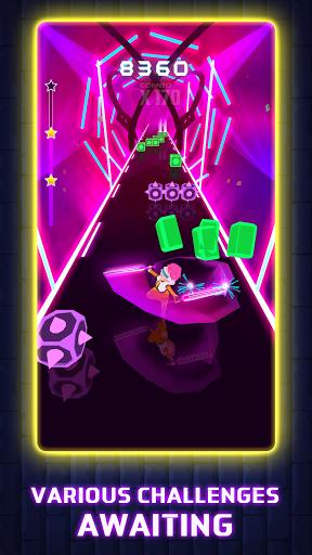 Beat Blader 3D: Dash and Slash! android2mod screenshots 5