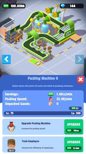 Idle Courier Tycoon - 3D Business Manager android2mod screenshots 6