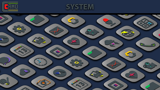 Camo Light Icon Pack 1.0.7 (Patched)