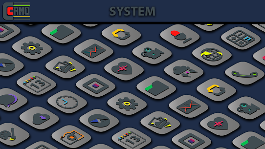 Download Camo Light Icon Pack v1.1.1 (Patched) 1