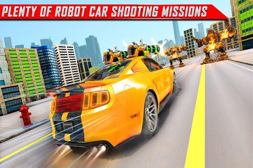 Lion Robot Car Transforming Games: Robot Shooting 1.8 Screenshots 5
