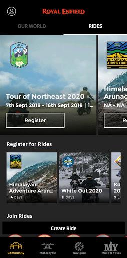 Royal Enfield App 6.7 Screenshots 2
