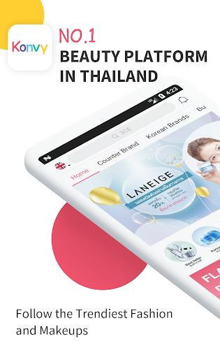Konvy-Cosmetic Shopping 4.8.2 screenshots 1