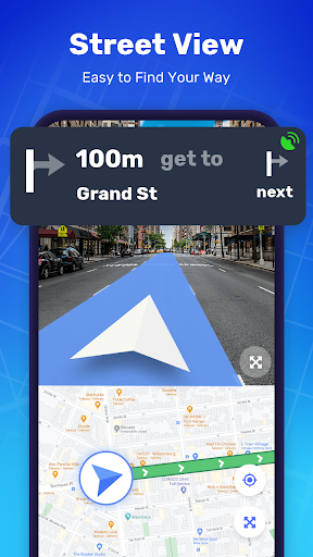 GPS Route Finder - GPS Location, Map Navigation apktram screenshots 5
