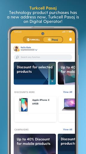 Turkcell Digital Operator - Transaction & Shopping android2mod screenshots 4