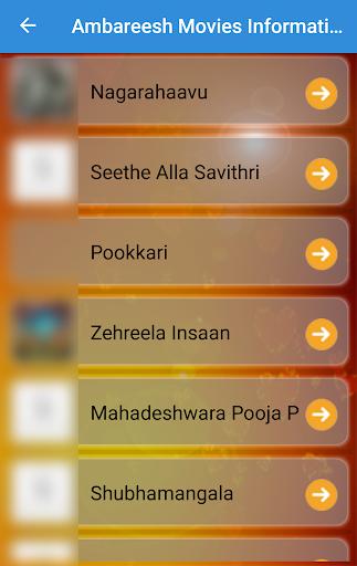 Ambareesh Movies List, Wallpapers, puzzle, quiz screenshots 3