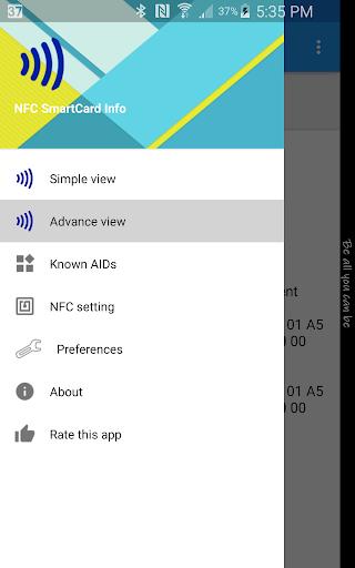 NFC Smart Card Info  screenshots 1