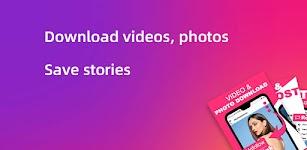 screenshot of Story saver, Video Downloader for Instagram