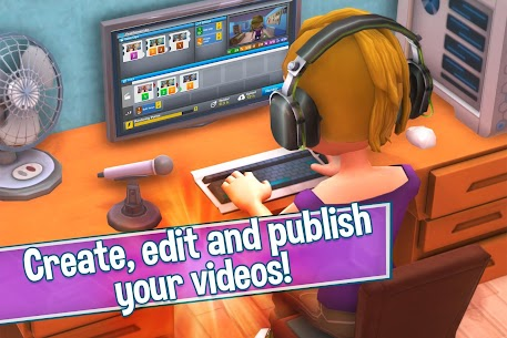 Youtubers Life (MOD, Unlimited Money) 5