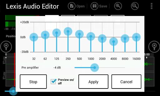 Lexis Audio Editor 1.1.105 Screenshots 4