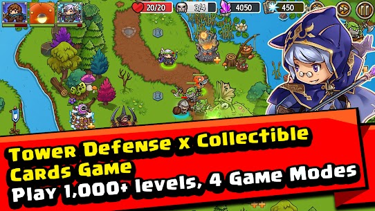 Crazy Defense Heroes: Tower Defense Strategy Mod Apk (Unlimited Resources) 1