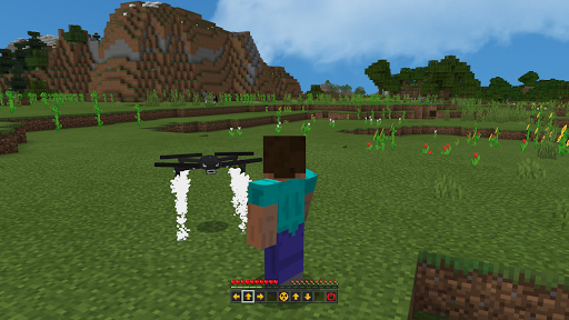 Drone Mod For Minecraft PE  screenshots 2