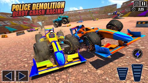 Police Formula Car Derby Demolition Crash Stunts  screenshots 20