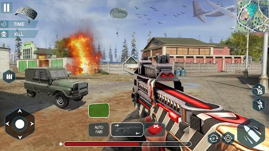 Gun Shoot War: Squad Free Fire 3D Battlegrounds 1.4 Screenshots 1