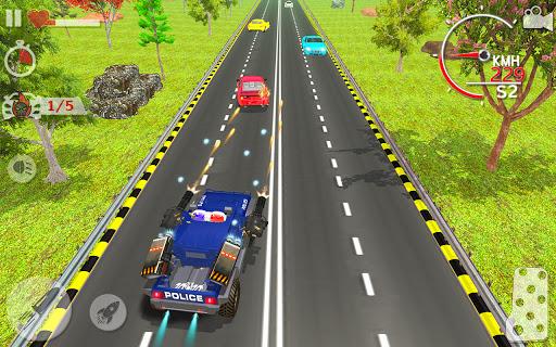 Police Highway Chase Racing Games - Free Car Games  screenshots 4