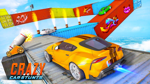 Crazy Car Stunts 3D - Mega Ramps Car Games  screenshots 13