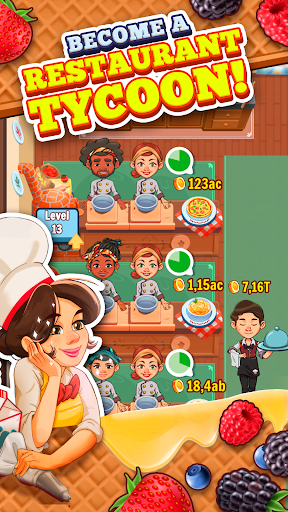 Spoon Tycoon - Idle Cooking Manager Game 2.2.2 screenshots 1