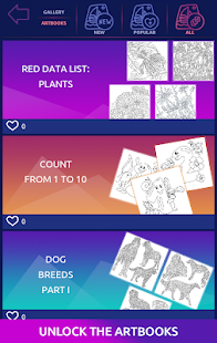 Big Coloring Book: free color by number, pixel art