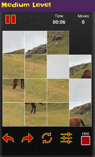 horse puzzle jigsaw for kids screenshot 3