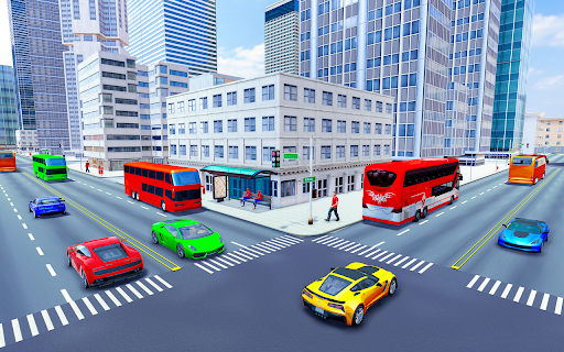 City Coach Bus Simulator 3d - Free Bus Games 2020 1.0.3 Screenshots 4