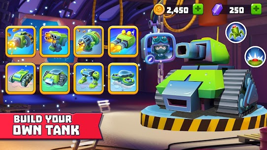 Tanks A Lot! – Realtime Multiplayer Battle Arena 2.93 Apk + Mod 2