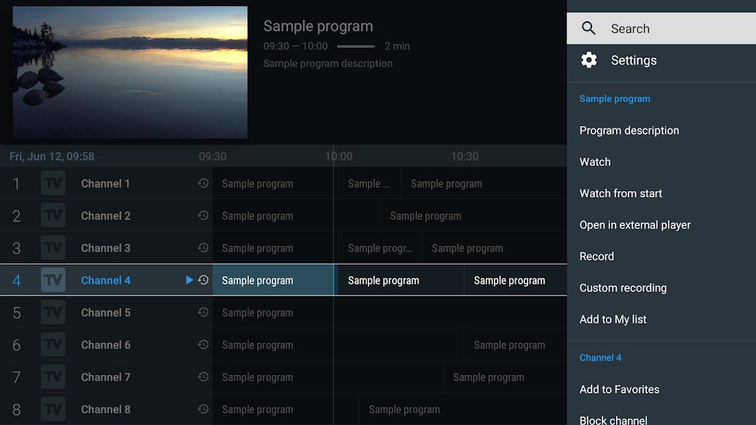TiviMate IPTV Player screenshot 1