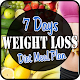 7 Days Weight Loss Diet Meal Plan APK