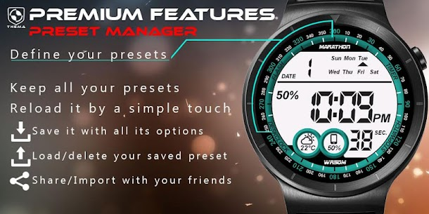 Digital One Watch Face Apk [Paid] Download for Android 7