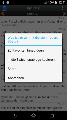 Deutsch Luther Bibel android2mod screenshots 3