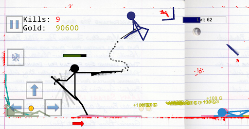 Stickman Physics Battle Arena  screenshots 1