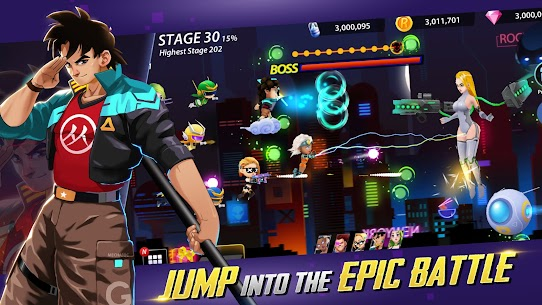 Idle Hero Z Mod Apk- Summon & Merge Cyberpunk (Unlimited Gold) 7