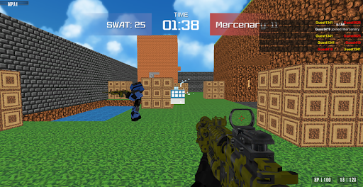 Shooting Advanced Blocky Combat SWAT  screenshots 8