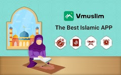 screenshot of Muslim Prayer Times, Azan, Quran&Qibla By Vmuslim