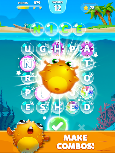 Bubble Words - Word Games Puzzle 1.4.0 Screenshots 6