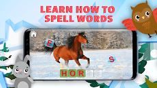 英語、読み方を習って動物たちを助ける。英語ABCを学ぶ教育ゲーム。のおすすめ画像3