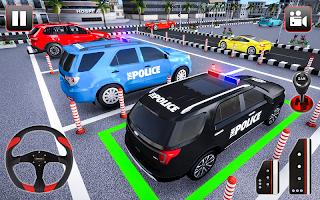 Police Parking Adventure - Car Games Rush 3D