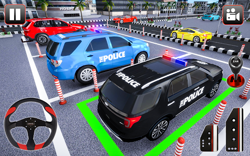 Police Parking Adventure Car Games 2021 3D 1.3 Screenshots 2